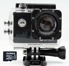 QUMOX WIFI SJ4000 B Camera Action Sport Caméra Appareil HD 1080p + 32GB MicroSD