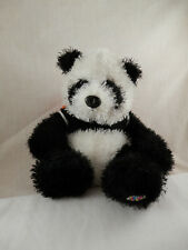 "Ganz Webkinz Panda Beanbag Plush  7"" plush with Orange Shield"