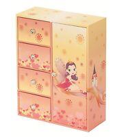 Mele and Co Fairy Princess Jayne Girls Kids Wardrobe Jewellery Box MC1308