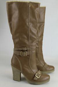 Esprit Gr.40 Damen Hochschaft Stiefel Stiefeletten Boots  TOP  Nr. 93 F
