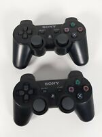 2x Sony DualShock 3 Gamepads/Controllers For Playstation3 PS3 CECHZC2E