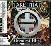 Take That ‎Greatest Hits JAPAN CD with OBI 1 Bonus Track BVCP-926