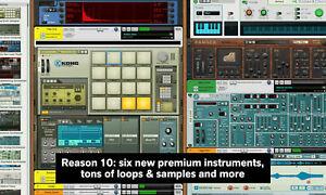 Propellerheads Reason 10 Lite (Upgrade auf Reason 11 / 11 Studio möglich)
