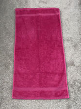 Pink John Lewis Egyptian Cotton Hand Towel In Good Condition