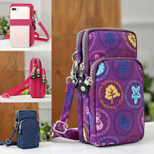 Cross-body Shoulder Bag Pouch Case Belt Handbag Purse Mobile Phone Wallet Bag