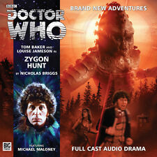 DOCTOR WHO Big Finish Audio CD Tom Baker 4th Doctor #3.8 ZYGON HUNT