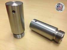 Harley 39mm Fork Tube 3in Extensions for Dyna Sportster FXD XL Stainless Steel
