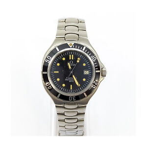Omega Watch  3961052 Seamaster Professional operates normally 1133888