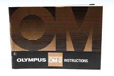 Olympus Om-2 Instruction Manual - *Ex*