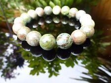 Green Rhyolite Jasper Bracelet Therapeutic Gemstone
