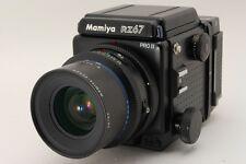 Near Mint Mamiya RZ67 Pro II with 90mm Lens + 120 Film Back Kit From Japan 246