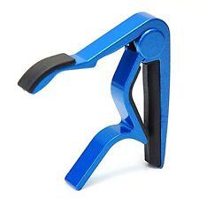 CAPO Capo clamp Metal metallic blue for guitar C3S4