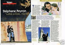 Coupure de Presse Clipping 1999 (2 pages) Stéphane Peyron Eole ma fille