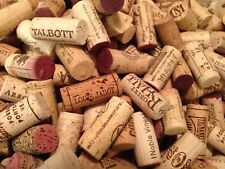 Lot of 50 Real/Natural Used Red Wine Corks NO Plastic or Champagne arts & crafts