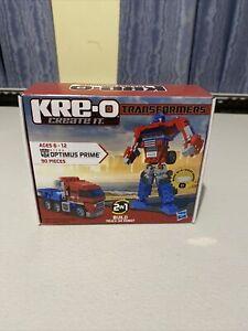 Transformers KREO Optimus Prime New