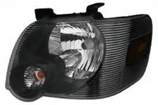 Left driver Black headlight for 2006 2007 2008 09 10 Ford Explorer / Sport Trac