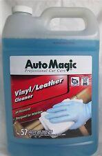 VINYL & LEATHER CLEANER BY AUTO MAGIC, DEEP CLEAN BUT MILD FORMULA, 1 gallon