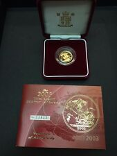 2003 Great Britain Half Sovereign Proof in Case with COA