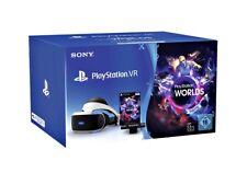 Sony PlayStation VR-Brille V2 Angebotspaket - VR-Brille, Kamera und VR Worlds