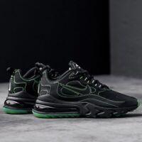 Nike Air Max 270 React SP Black Green Volt UK 7.5 US 8.5 Force 1 90 95 OG 97 98