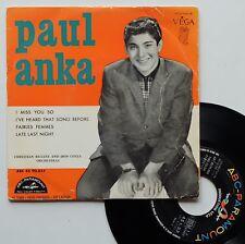 "EP Paul Anka  ""I miss you so"""
