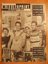 Miroir Sprint N° 635 du 4/8/1958-Tour de l'Ouest.Vedette,Scodeller a repris rang