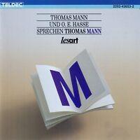 THOMAS MANN UND O.E. HASSE SPRECHEN THOMAS MANN / CD (HÖRBUCH) - TOP-ZUSTAND