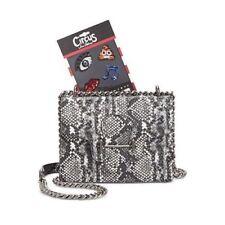Circus by Sam Edelman $80 NWT Pheobe Customizable Crossbody white black python