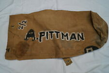 Post Ww2 Canadian Large Duffle Bag Named & No.