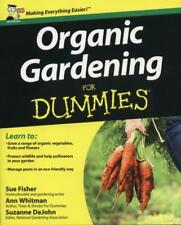 Organic Gardening For Dummies  by Sue Fisher New Book