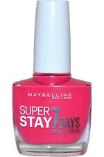 Gel Nail Polish #190 PINK VOLT Maybelline Super Stay GEL 7 Day Nail Color