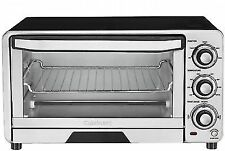 Cuisinart Custom Classic Toaster Oven Broiler 6 Slices Brushed Stainless Steel