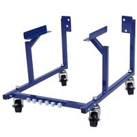 New 1000lb Auto Engine Cradle Stand Ford Dolly Mover Repair Rebuild w/Wheels