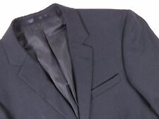 P5236 MARIO CONTI JACKET BLAZER WOOL CHECKED BLACK ORIGINAL PREMIUM size 48