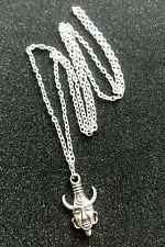 "Supernatural DEAN Winchester's AMULET Tibetan Silver Charm, 30"" Chain Necklace"