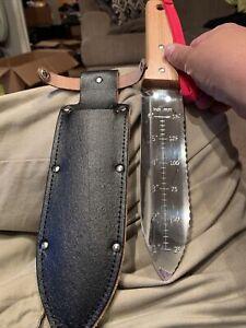 Nisaku NJP651 Hori Weeding & Digging Knife-Hardened HRC58 Edition Authentic T...