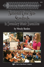 National Core Arts Standards in Secondary Music Ensembles MUSIC BOOK-NEW ON SALE