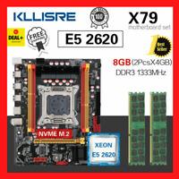 Kllisre X79 Motherboard LGA2011 Combos Xeon E5 2620 CPU 8 GB Speicher DDR3...