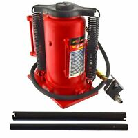 Air Powered Hydraulic Bottle Jack with Manual Pump 20 Ton / 20,000 Kgs AN150