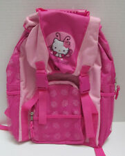 New NWT Hello Kitty Pink Girls Backpack