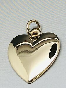 James Avery 14k Yellow Gold Heart Charm