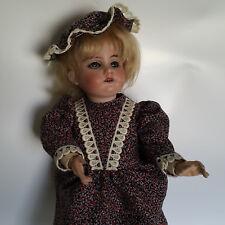 Puppe Bisquit Porz Armand Marseille 1894 AM 3/0 DEP Gliederkörper Glasaugen