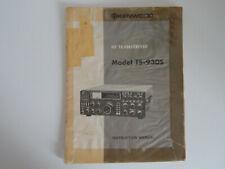 KENWOOD TS-930S (GENUINE INSTRUCTION MANUAL ONLY).......RADIO_TRADER_IRELAND.