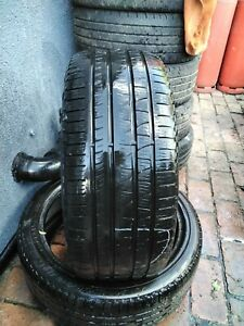2x tyre 275/40/22 108Y extra load Pirelli Scorpion Verde with 4.7mm and 5.3mm