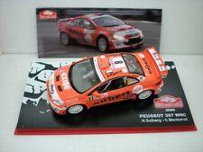 COCHE PEUGEOT 307 WRC  RALLY MONTECARLO SOLBERG MENKERUD IXO CAR RALLIE