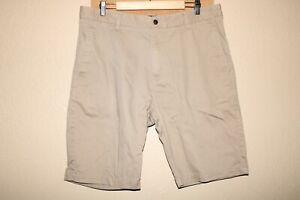 "VOLCOM Mens 36"" Waist khaki chino shorts Combine ship Discount"