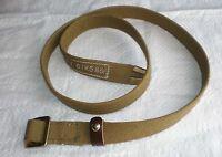 "USSR Original Soviet Army Canvas Multipurpose Trouser Belt Size-1, 37""/94 cm"
