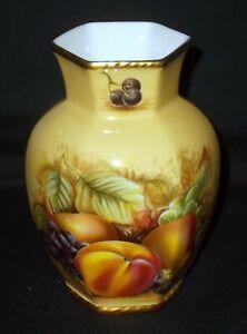 Aynsley ORCHARD GOLD Vase