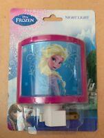 Disney Frozen Elsa Night Light 120V. Rotary Shade NIB Free Shipping (H)
