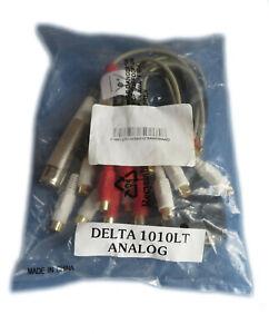 Breakout Anschlußkabel analog für M-Audio Delta 1010LT NEU #30